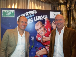 Arjen Robben Fred Diks foto Uitgeverij Kluitman