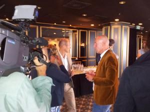 Arjen Robben in gesprek met Fred Diks